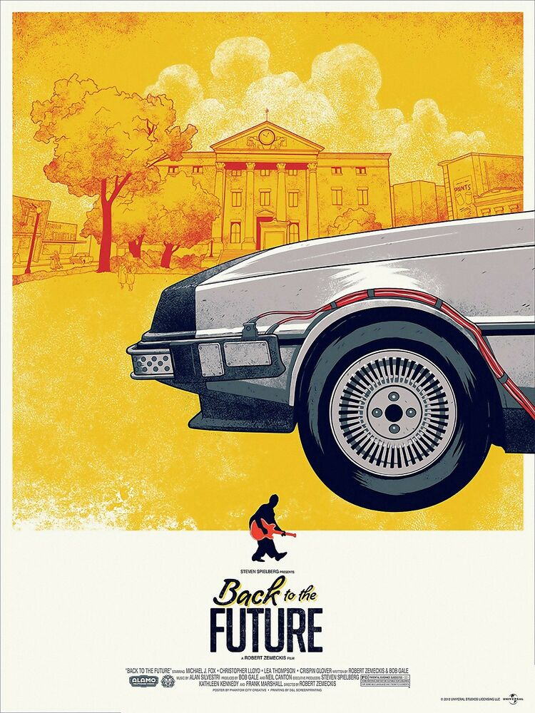 RITORNO AL FUTURO BACK TO THE FUTURE MOVIE POSTER STEVEN ...