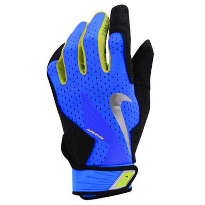 Nike Velcro Gloves: Nike Vapor Elite Pro Sheepskin Leather Baseball Batting