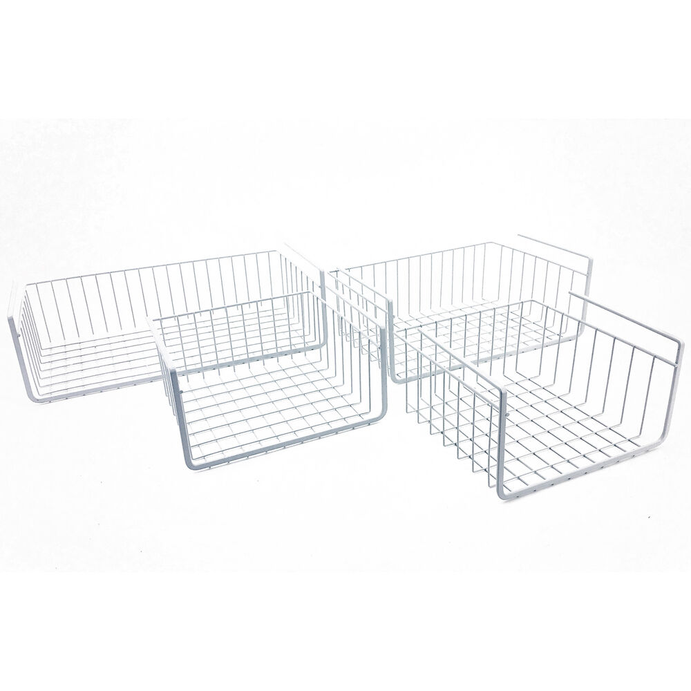 New Cabinet Wire Basket Shelf Creates More Storage