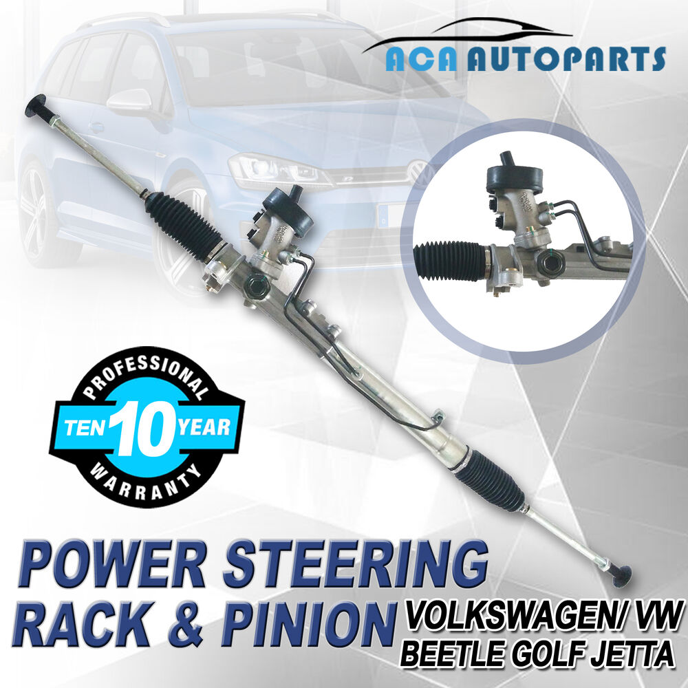 For Jetta Power Steering Rack Pinion Complete Vw Golf Beetle 2003 Honda Civic Electrical System Volkswagen 99 07 Ebay