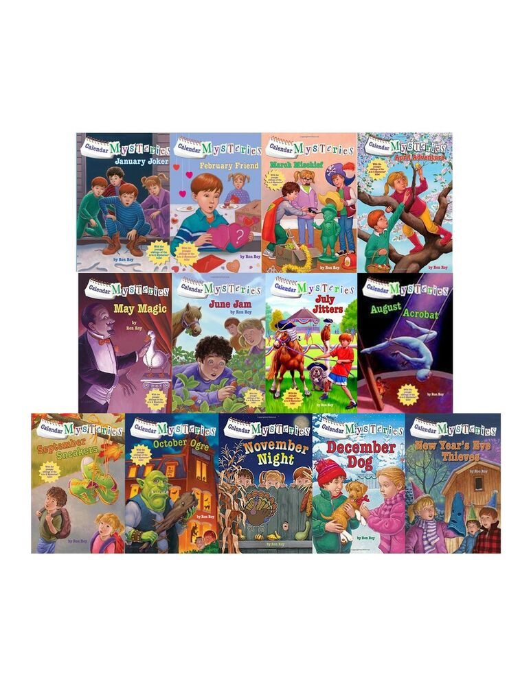 Calendar mysteries collection set 1 13 childrens chapter for Bureau 13 book series