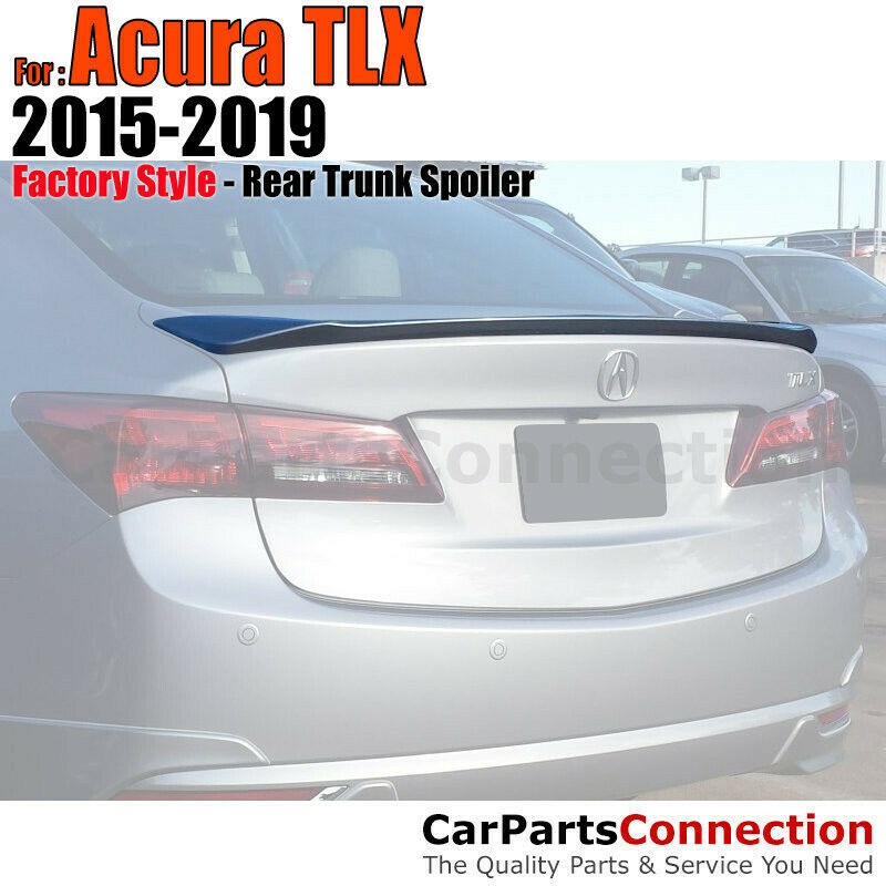 Painted ABS Rear Trunk Spoiler Wing For 15+ Acura TLX Deck