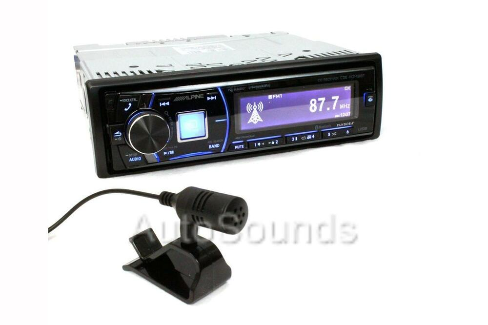 alpine cde hd149bt cd mp3 wma player bluetooth hd radio. Black Bedroom Furniture Sets. Home Design Ideas