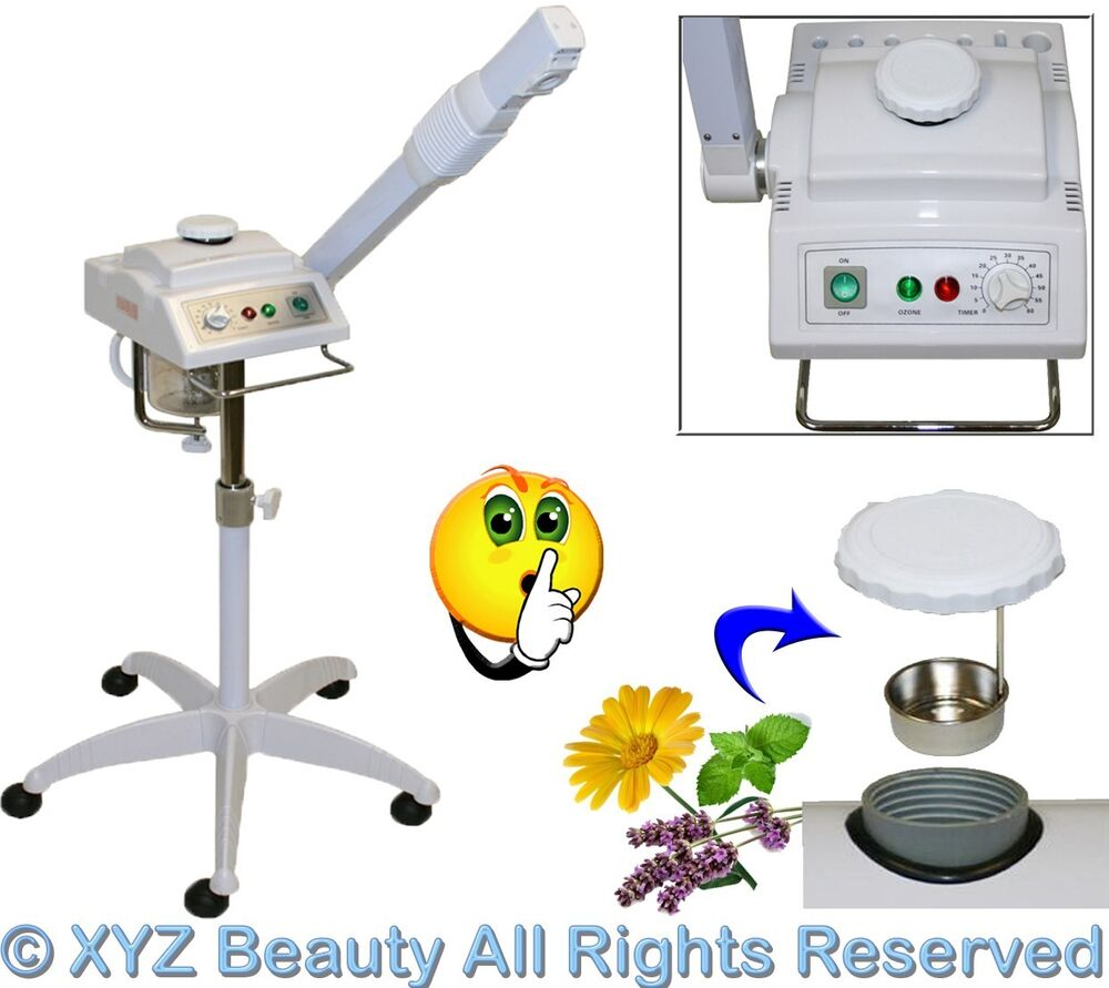 Brand New Aromatherapy Ozone Herbal Facial Steamer Spa