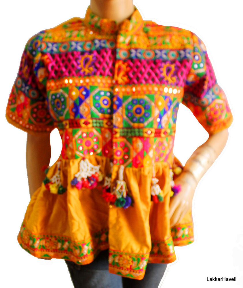 Women Girl S Jacket Coat Banjara Outwear Embroidered