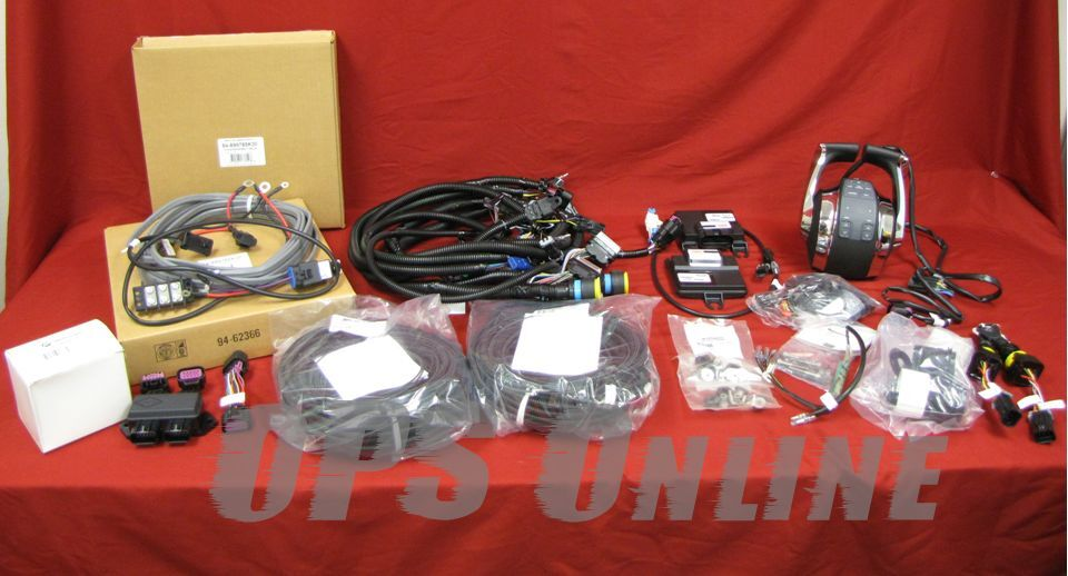 New Oem Mercury Verado Dual Console Binnacle Kit W   Dts