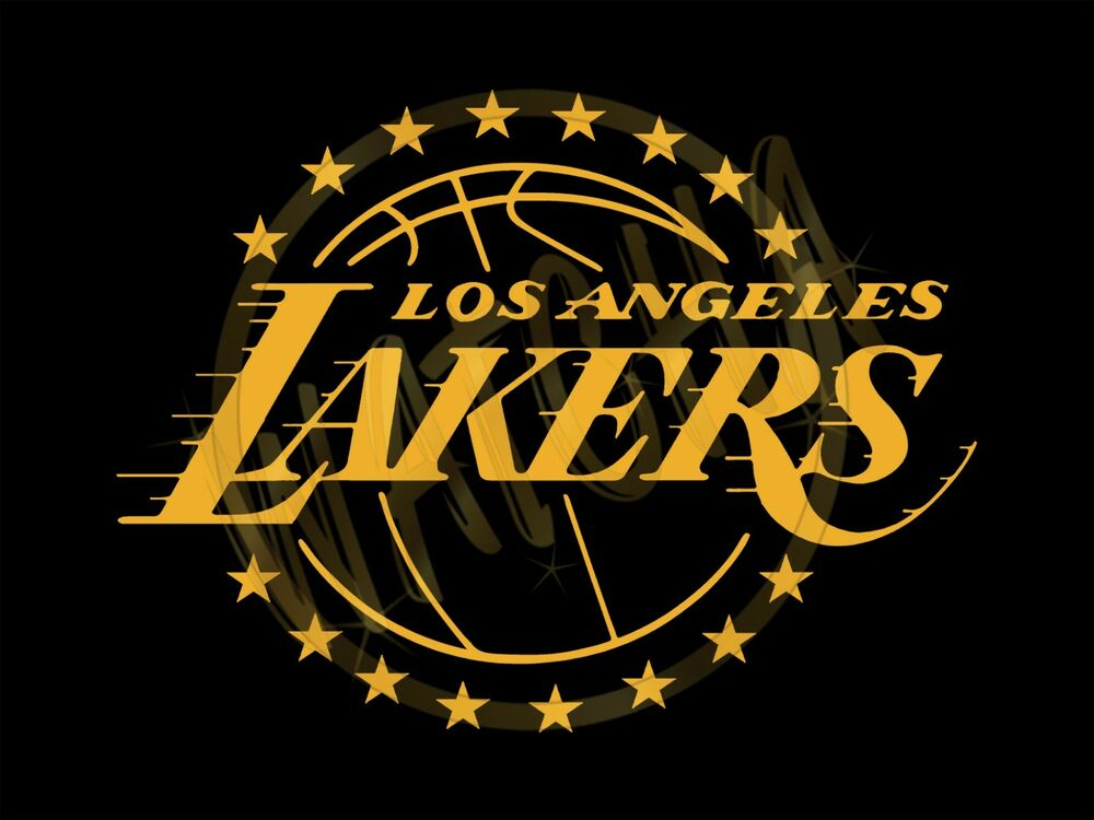 Los Angeles Lakers With 16 Championship Stars Logo Men's ...