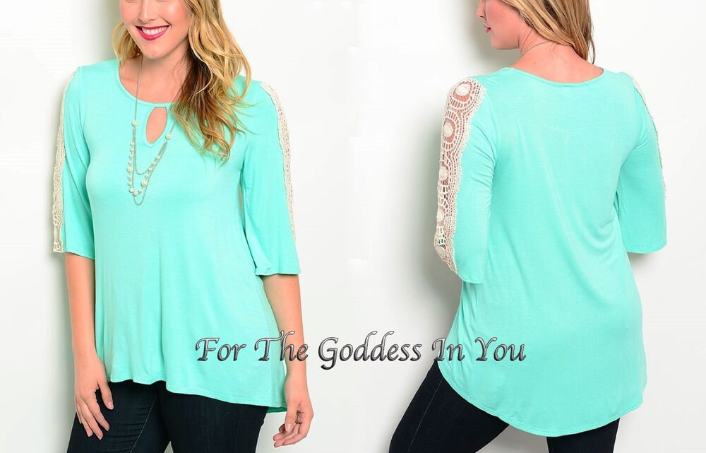 Mint Green Blouses