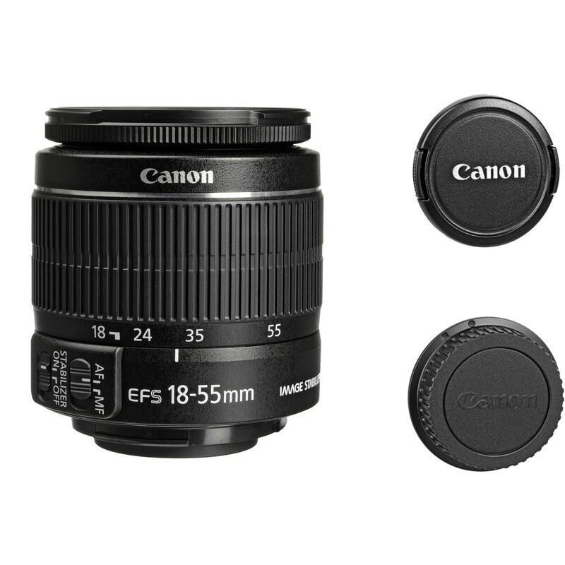canon ef s 18 55mm f 3 5 5 6 ii is slr zoom lens for canon. Black Bedroom Furniture Sets. Home Design Ideas