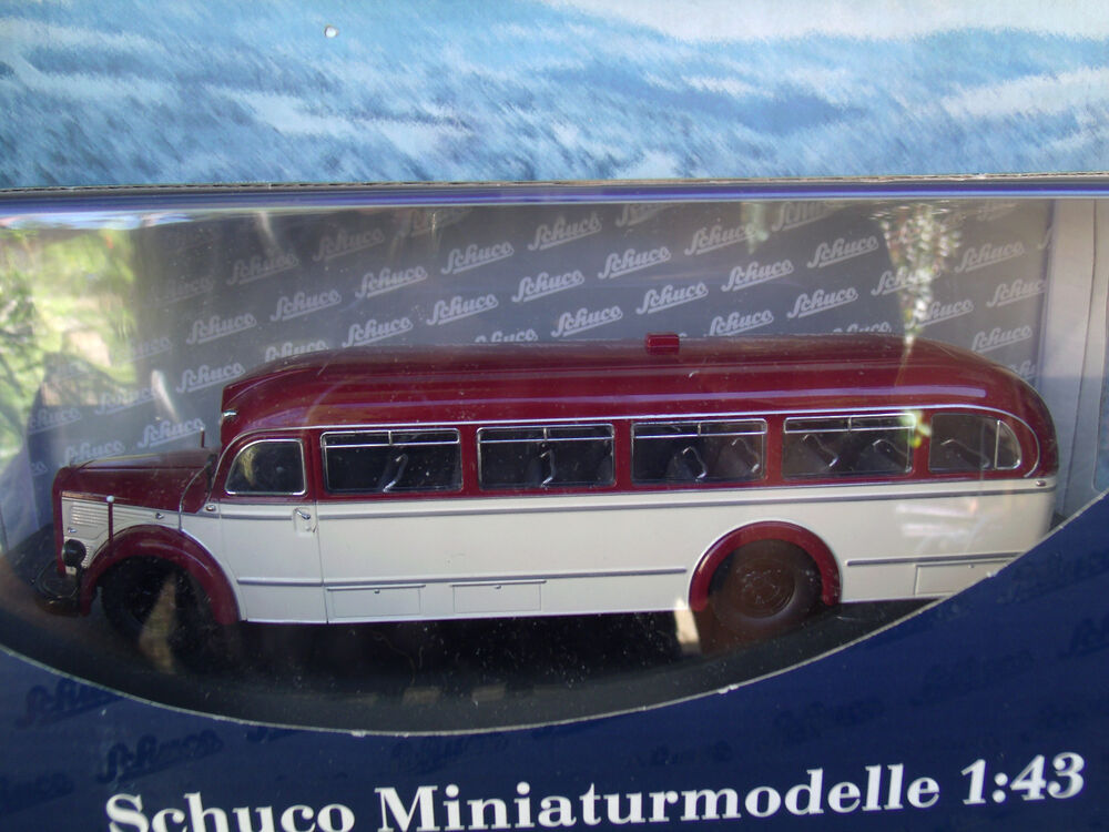 1 43 schuco germany mercedes benz o 6600 bus ebay for Mercedes benz deutschland