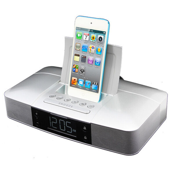 iphone docking station with speakers ipod touch 5th 6th nano iphone 5 6 6s dock station 17638