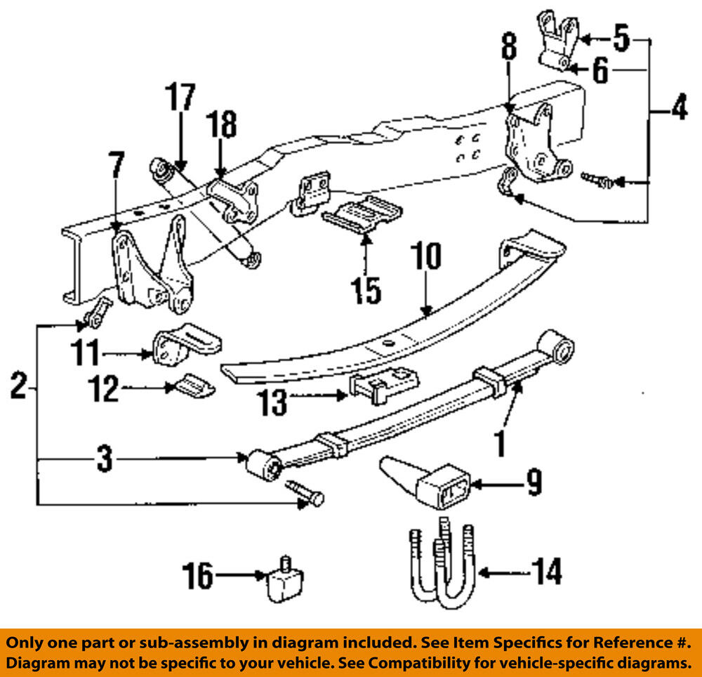 1997 ford f 150 wiring diagram 1998 ford oem 92-96 f-150 rear suspension-spring assembly ...