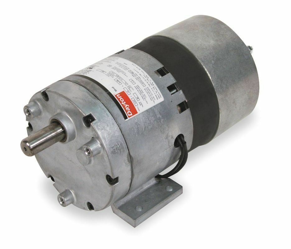 Dayton model 1lpl6 gear motor 60 rpm 1 10 hp 115v 3m138 for 4 rpm gear motor