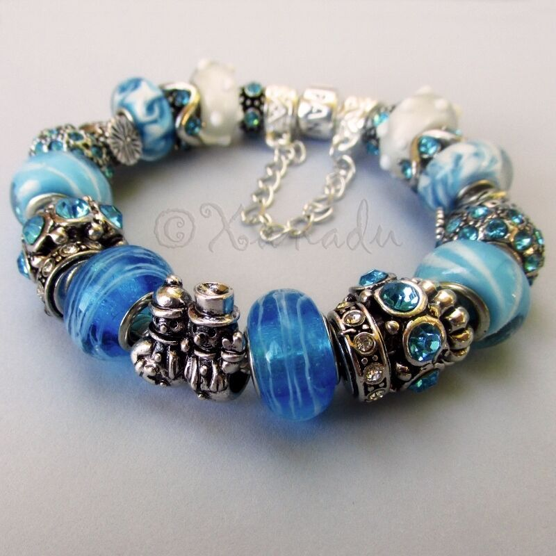 What Jewelry Store Sells Pandora: Genuine Sterling Silver Pandora Bracelet With Turquoise