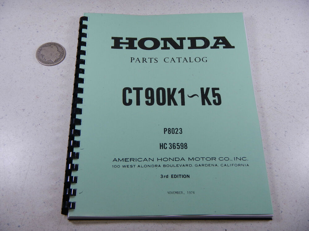 Wiring Diagram Honda Ct90 Trail Bike Manual Guide