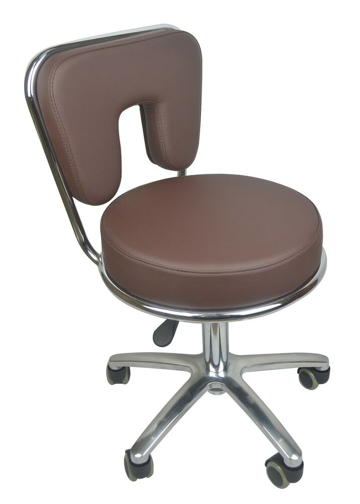 Pedicure stool spa worker chair hair salon massage for Beautician furniture