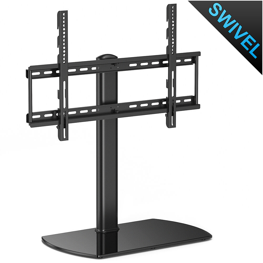 Universal Tabletop Tv Stand Pedestal Base Swivel Wall