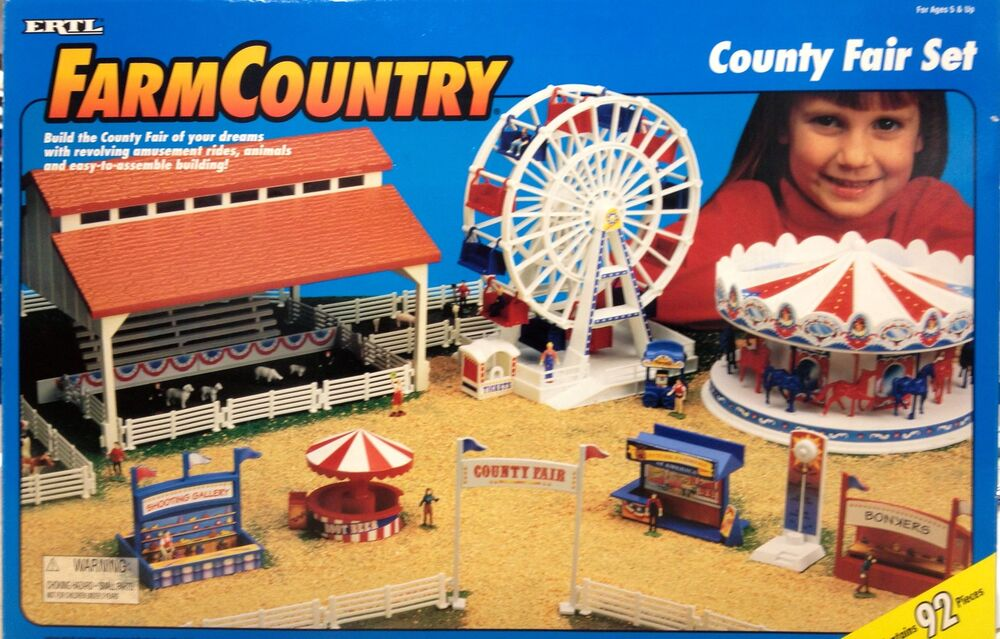1 64 Ertl Farm Country County Fair Set 4443 Ebay