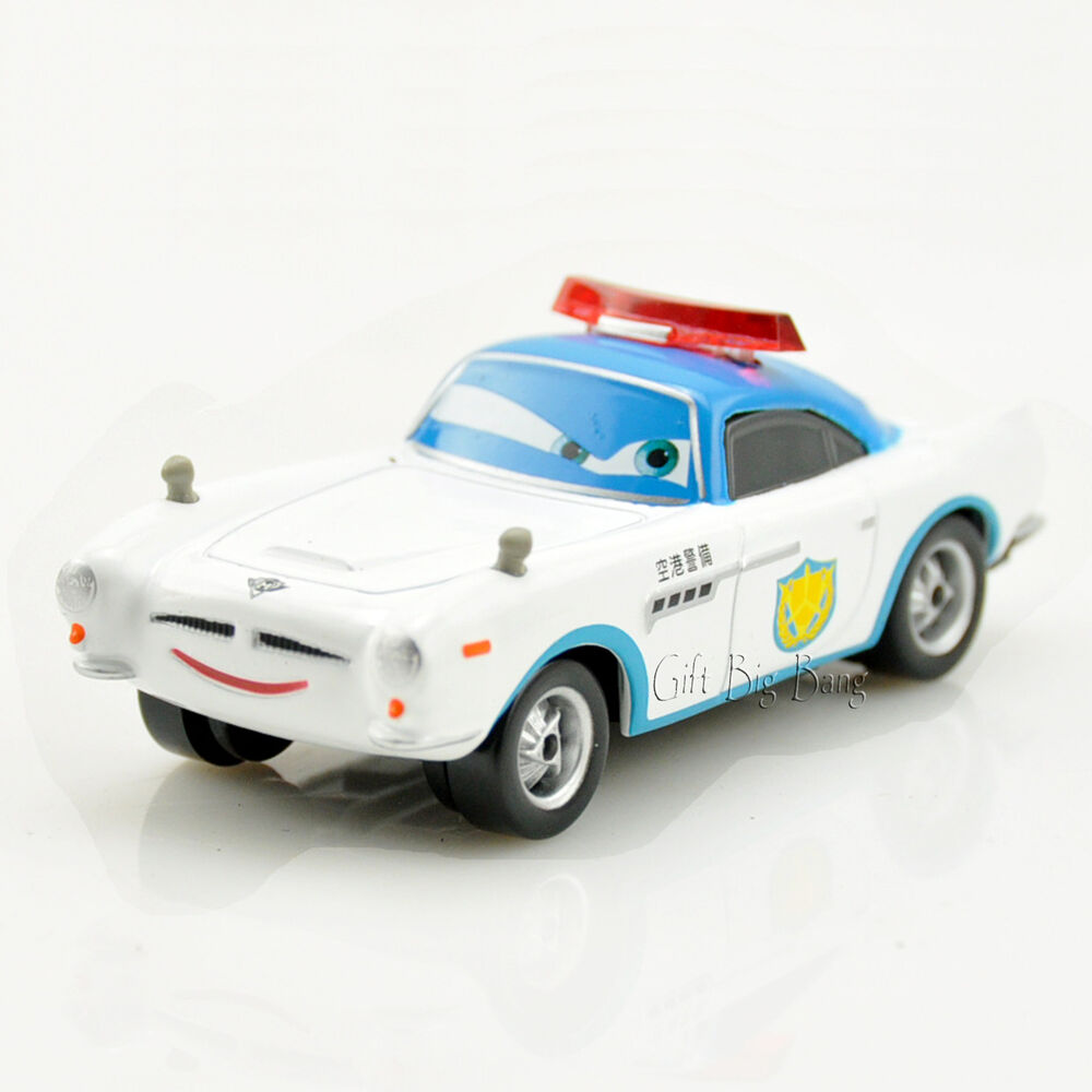 Mattel Disney Pixar Cars Security Guard Finn McMissile