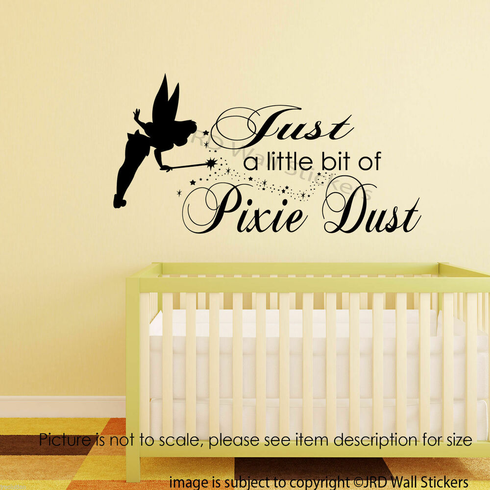 Fine Tinkerbell Wall Decor Stickers Images - The Wall Art ...