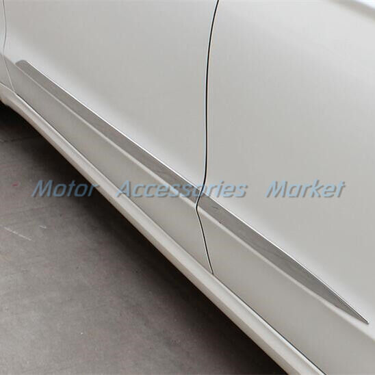 New Stainless Steel Chrome Door Molding Trim For Ford Fusion 2013 2014 2015 2016 Ebay