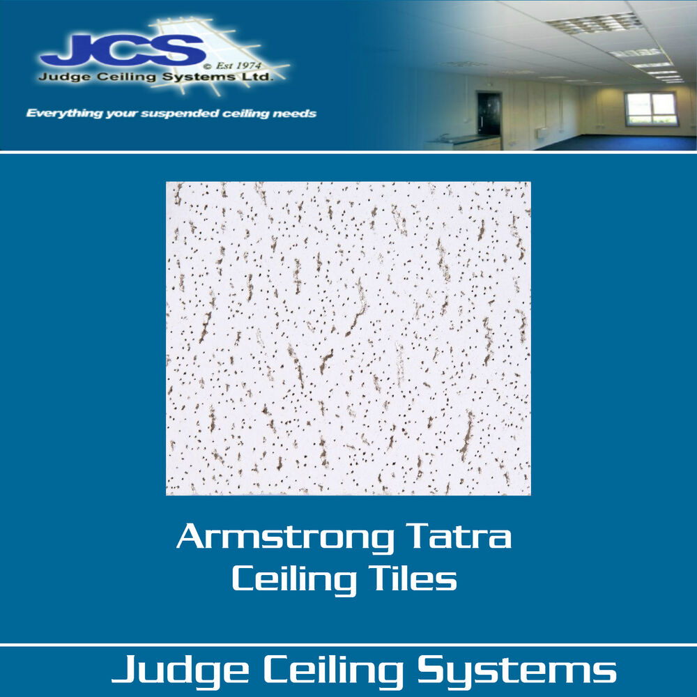Armstrong Tatra Board Style Suspended Ceiling Tiles Box Of 16 Ebay