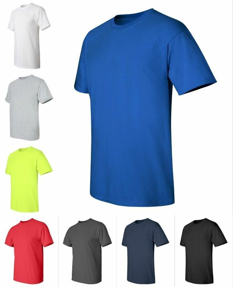 Gildan new mens tall sizes xlt 3xlt 100 ultra cotton t for Mens shirts tall sizes