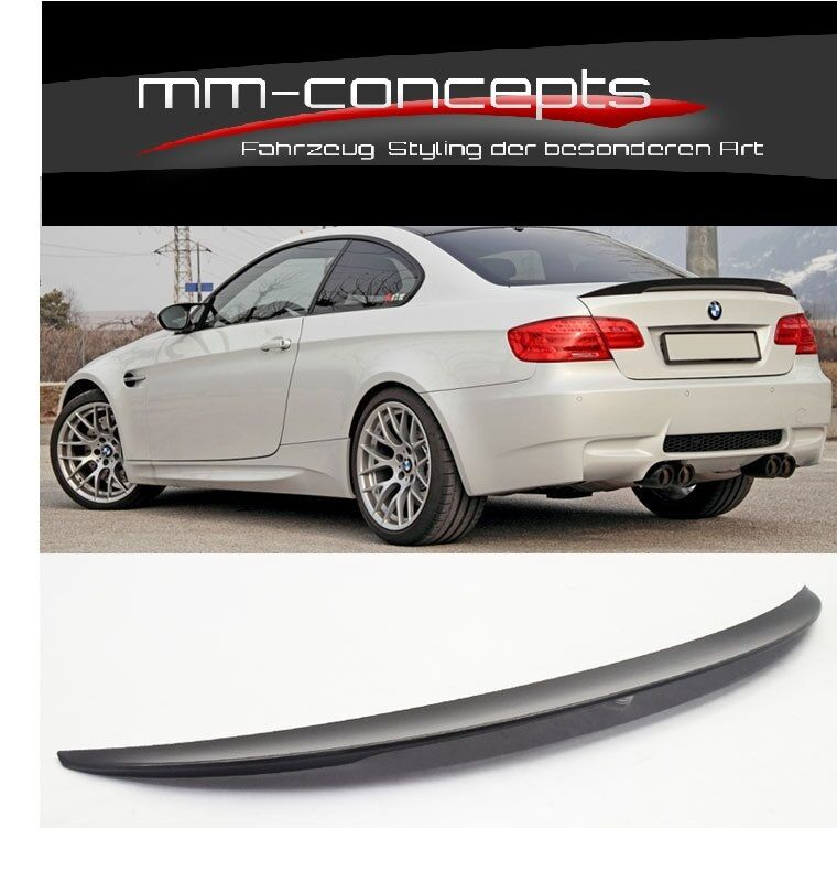 heckspoiler f r bmw 3er e93 cabrio spoiler hinten heck m3. Black Bedroom Furniture Sets. Home Design Ideas