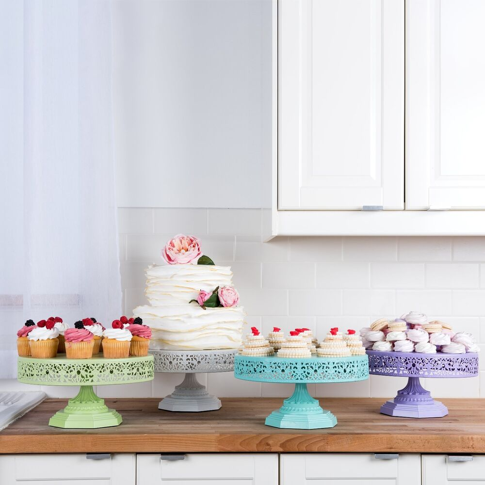 wedding cake event 12 inch cake stand metal cupcake wedding event 22570