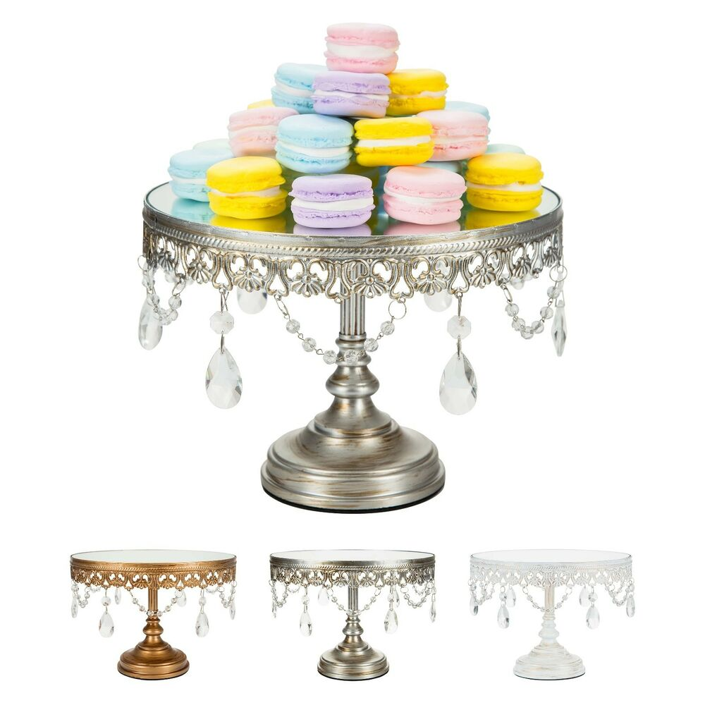 20 wedding cake stand cake stand metal 10 inch mirror top wedding 10106