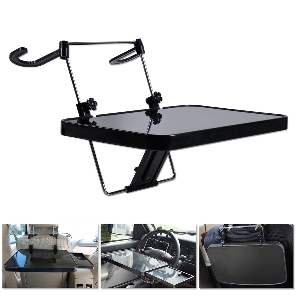 Hotsale car vehicle travel folding food holder tray desk for Cuisine table retractable