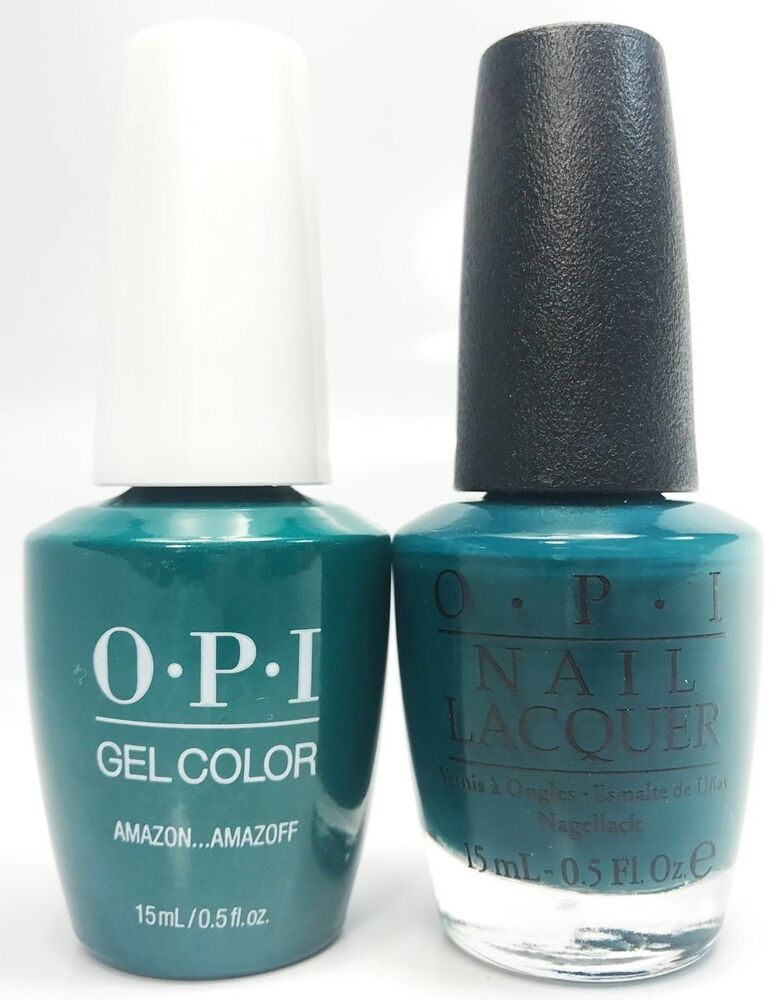 Opi Soak-Off GelColor Gel Polish + Nail Polish Amazon