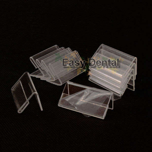30pcs Small Sign Display Holder Price Tag Label Stand Case