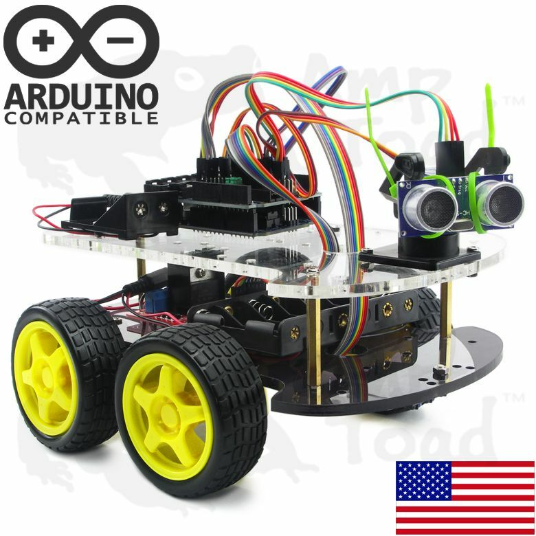 Wd arduino smart car robot learning starter kit