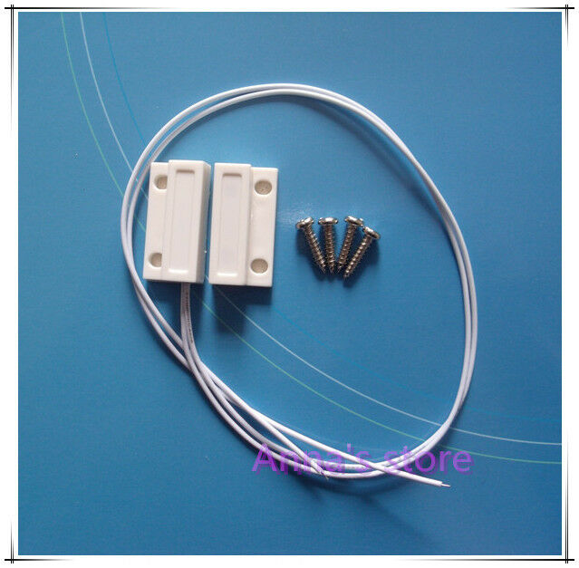 Contact Security: 1PC Recessed NO Magnetic Window/Door Contact Security
