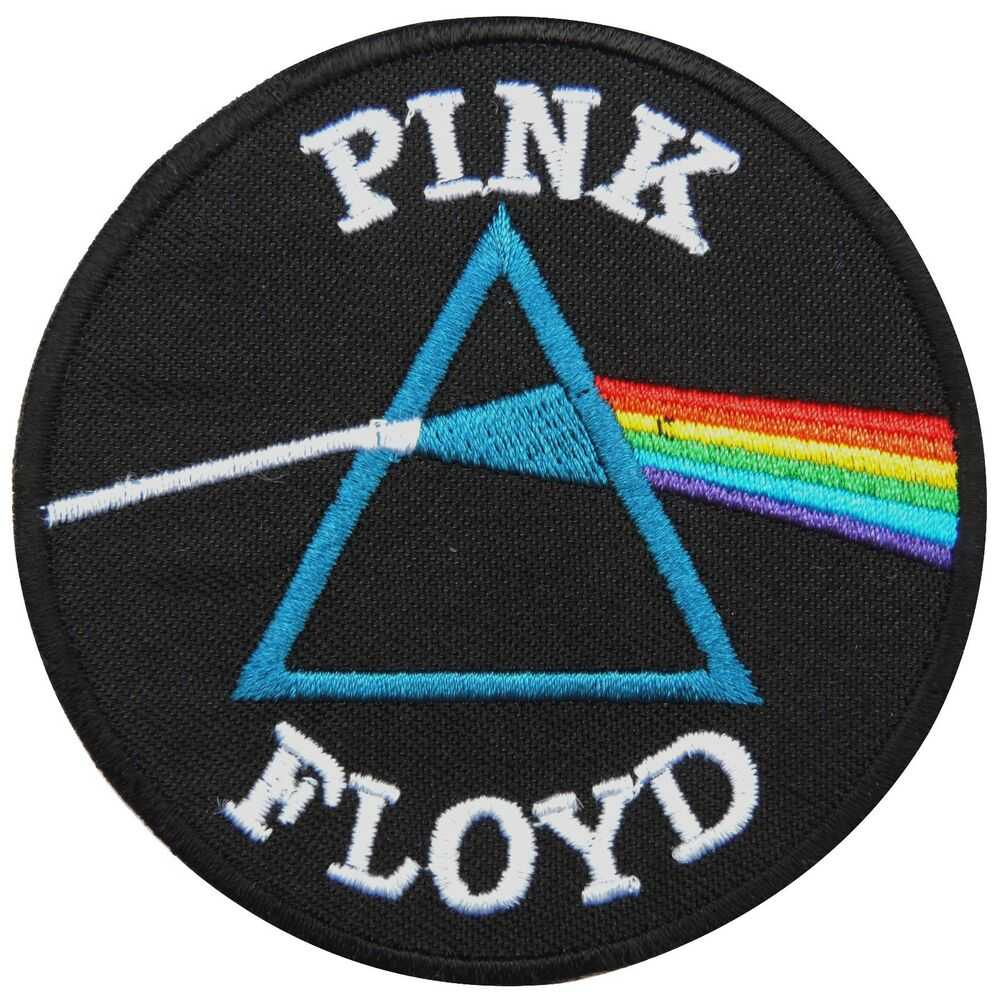 Pink floyd dark side of the moon sew iron on patch
