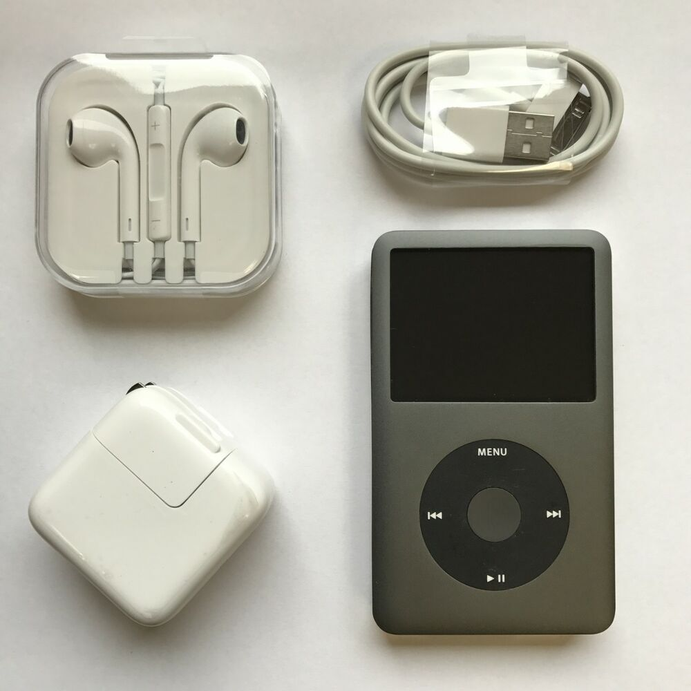 256GB Solid-State iPod Classic 7th Generation Grey/Black ...