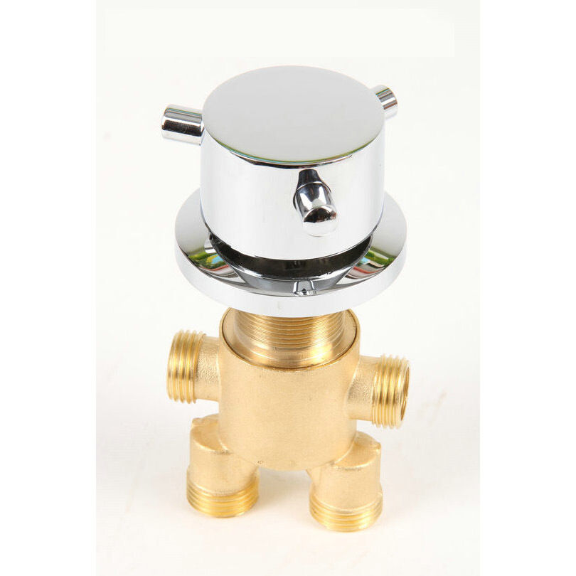 Brass Bathtub Hot And Cold Faucet Shower Tap Mixing Valve