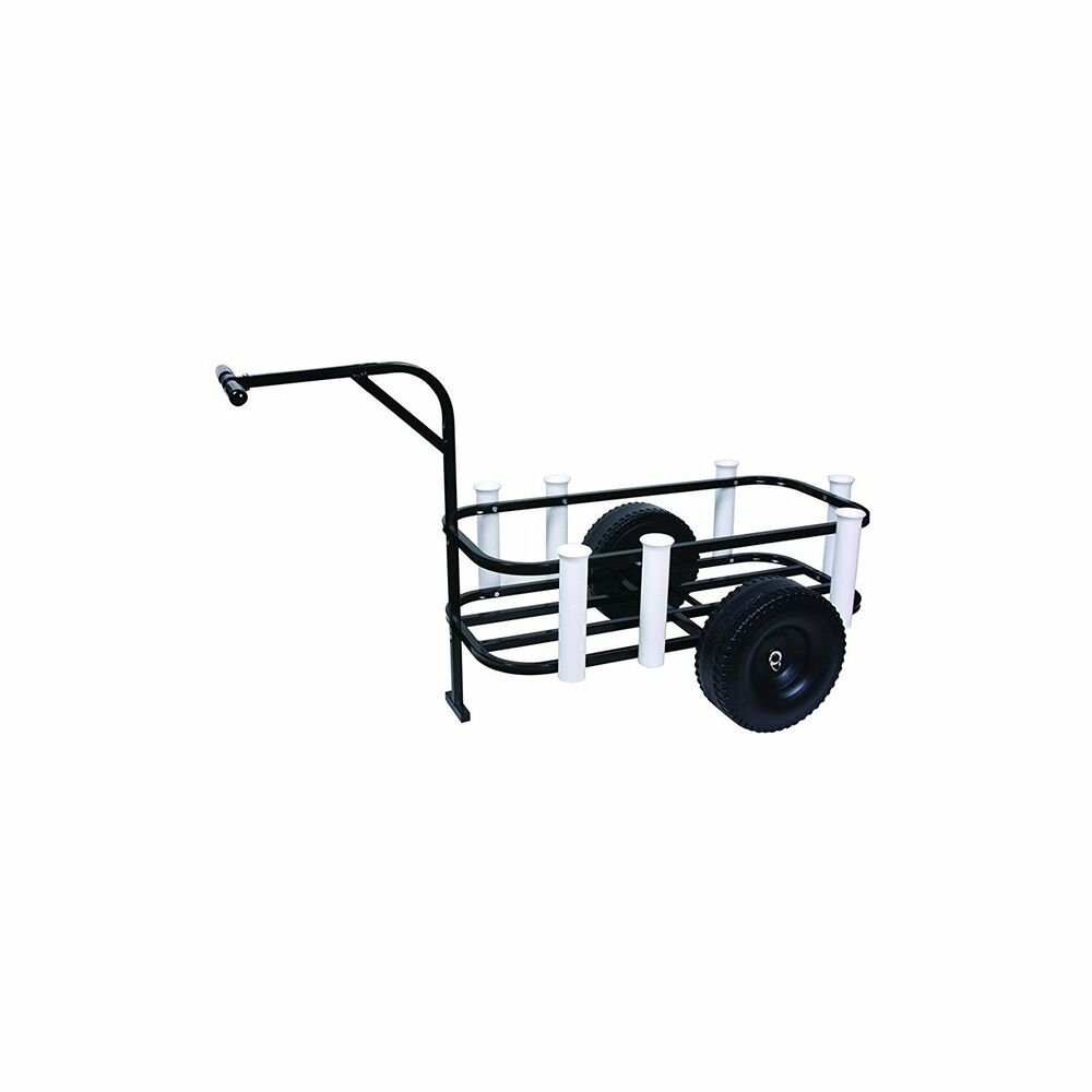 Beach fishing carts caddy surf boat liner pier cooler pvc for Beach fishing rod holder