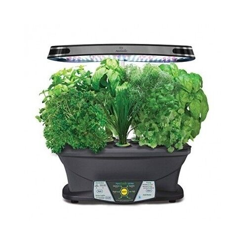 Herb Kits For Indoors: Indoor Herb Garden Kit Grow Box LED Grow Lights Gourmet