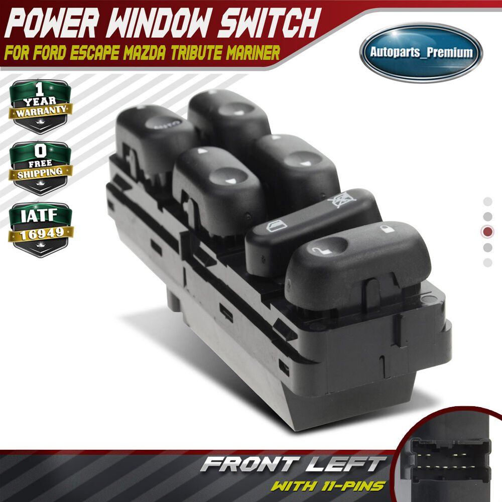 master power window switch for ford escape 2002 2007