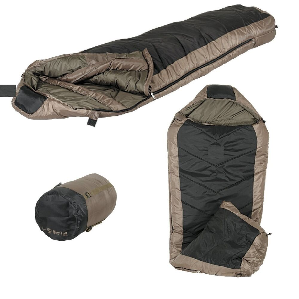 Tactical Mummy Sleeping Bag 0F/-18C Camping Hiking ...