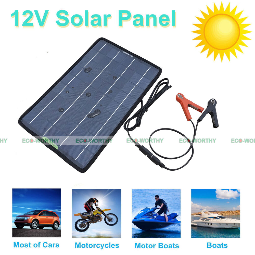 5W 10W 20W 100W Portable Solar Panel Battery Charger