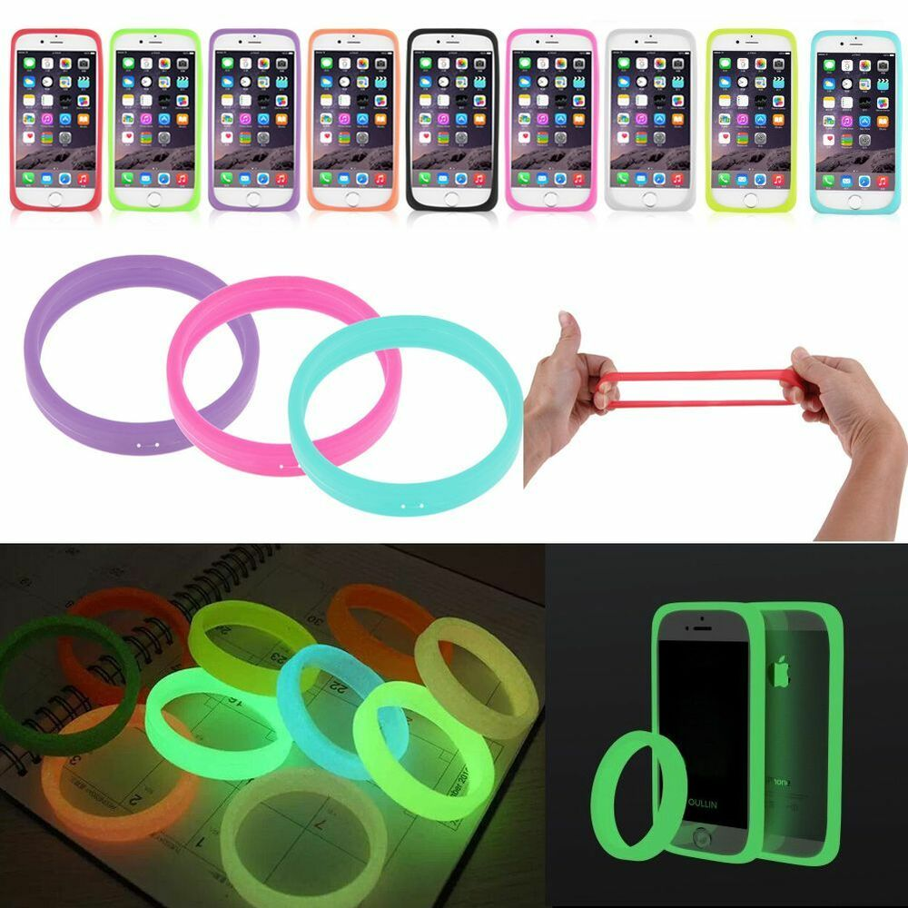 Case Design glow in the dark cell phone cases : ... Glow In The Dark Silicone Bracelet Cover Bumper CaseFor BLU Cell Phone