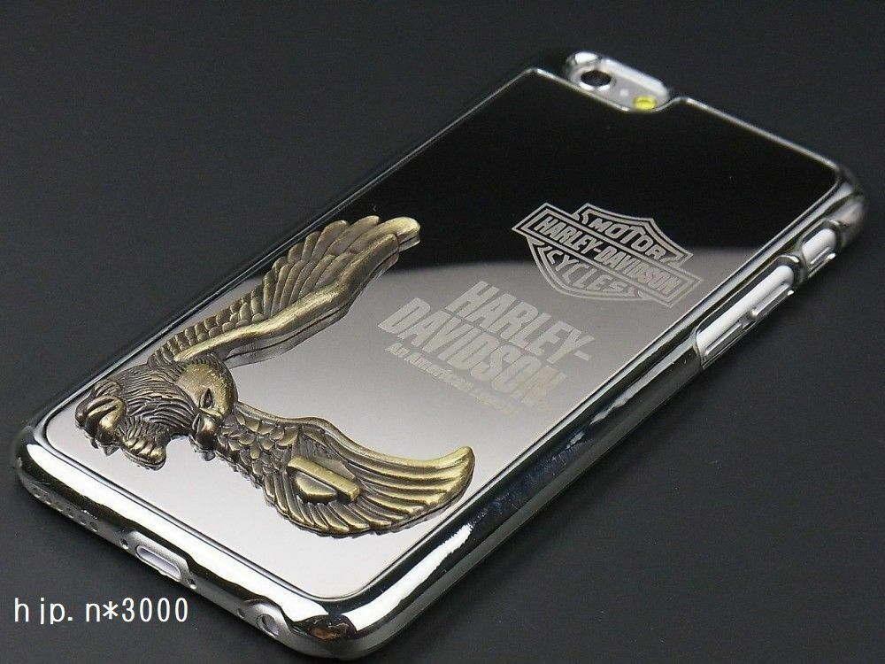 Harley Davidson Cell Phone Covers: Harley Davidson IPhone 6 Iphone6 Case Cover Black 4.7inch