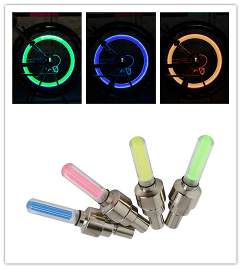 2 Mountain Bike Cycling Bicycle Wheel Accessories Valve ...