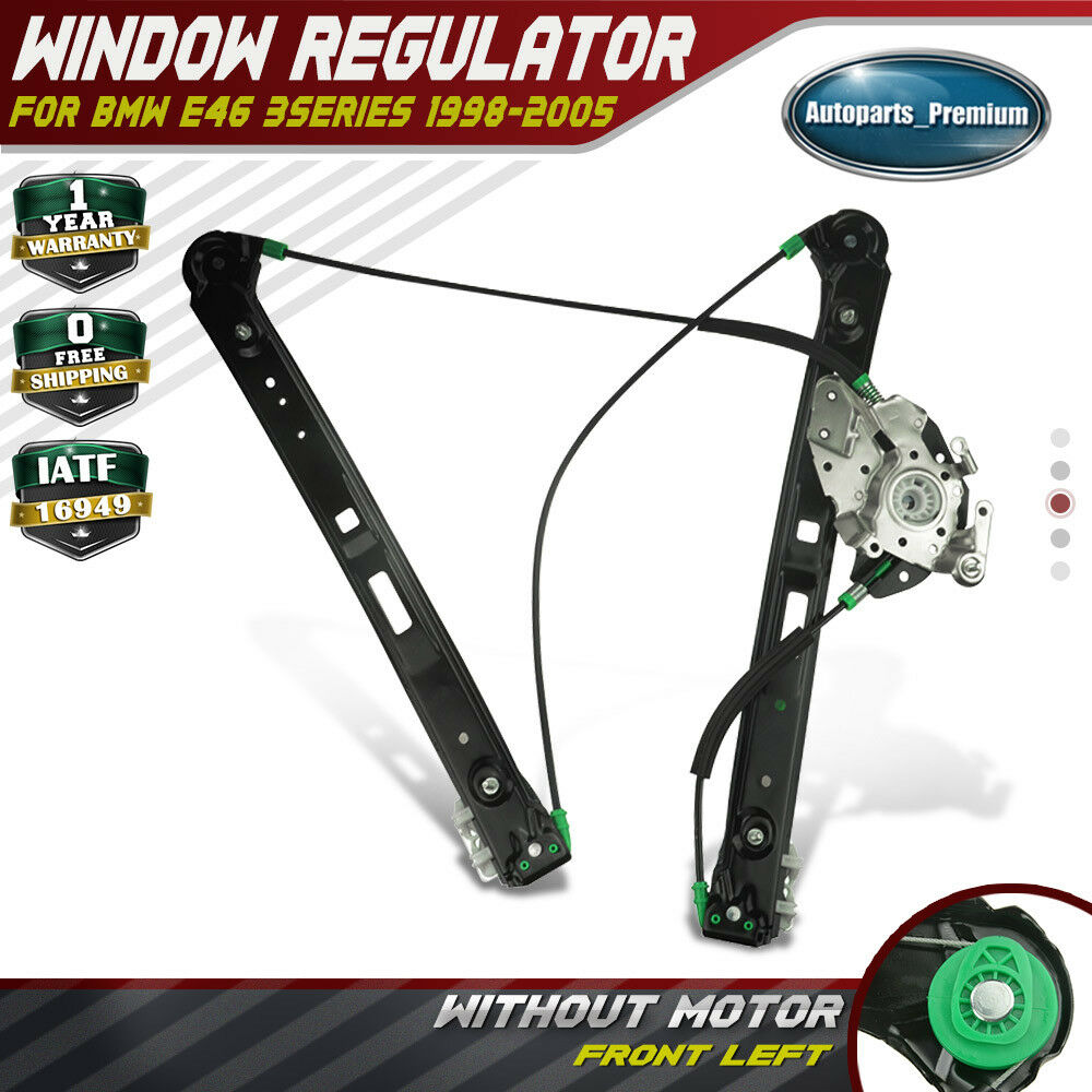 Power window regulator without motor for bmw e46 323i 325i for 1996 bmw 328i window regulator