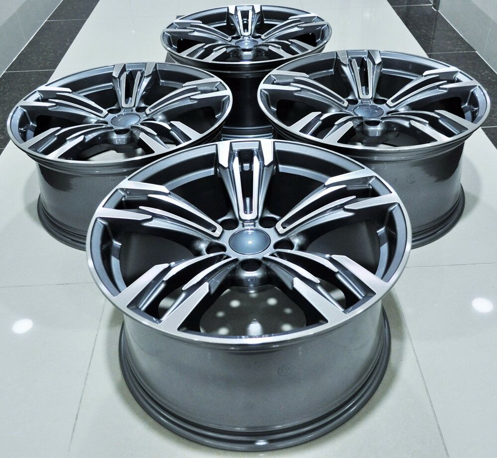 "18"" M6 STYLE STAGGERED WHEELS RIMS FITS BMW 1 2 3 4 5"
