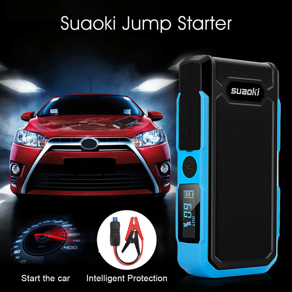 12v 20000mah auto starthilfe jump starter notstart. Black Bedroom Furniture Sets. Home Design Ideas