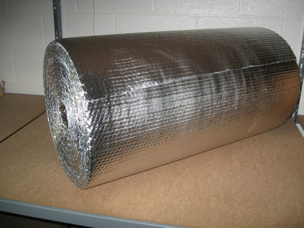 3 16 Quot Double Foil Bubble Insulation Reflective Wrap 24